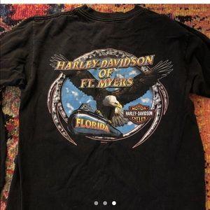 Vintage Harley Davidson Long Sleeve
